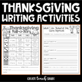 Thanksgiving Writing Assignments {Freebie}