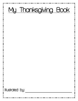 Thanksgiving Writing Book