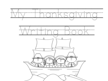 Thanksgiving Writing Book
