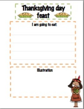 Thanksgiving Writing Bundle