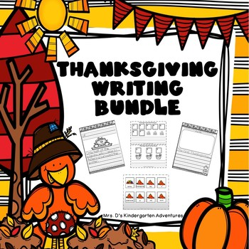 Thanksgiving Writing Bundle