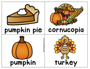 Thanksgiving Writing Center Activities