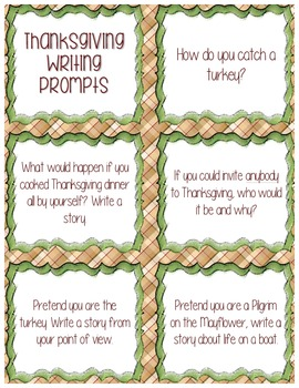 Thanksgiving Writing Center Bundle