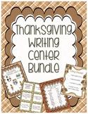 Thanksgiving Writing Center Bundle
