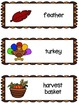 Thanksgiving Writing Center Cards