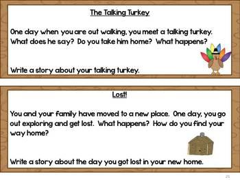 Thanksgiving Writing Cornucopia