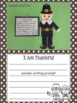 Thanksgiving Writing Craftivity