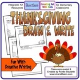 Thanksgiving Writing Draw and Write
