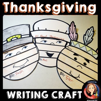 Thanksgiving Writing Activity Books