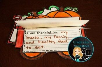 Thanksgiving-Writing For Primary Students