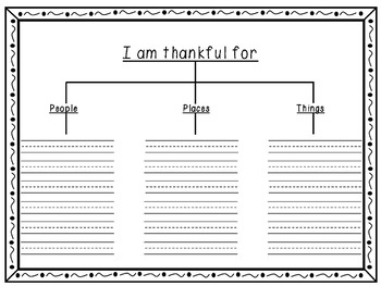 Thanksgiving Writing Freebie! Common Core Aligned!  UPDATED 11/7/2016