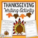 Thanksgiving Writing