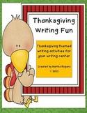 Thanksgiving Writing Fun