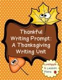 Thanksgiving Writing Lesson