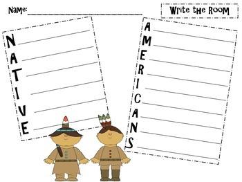 Thanksgiving Writing Pack