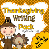 Thanksgiving Writing Pack - Common Core Aligned