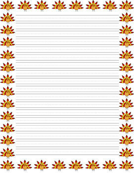 thanksgiving lined writing paper This thanksgiving turkey is perfect for your thanksgiving writing projects.