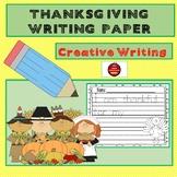 THANKSGIVING WRITING PAPER