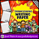 Thanksgiving Activities (Thanksgiving Writing Paper)