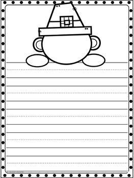 Thanksgiving Writing Paper (Draw Your Face!)