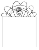 Thanksgiving Writing Paper Printables (3 Acrostic Pages)