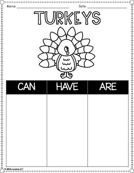 Thanksgiving Writing Paper Templates