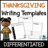 Thanksgiving Writing Pages {Differentiated}