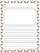 Free Thanksgiving Writing Paper for Centers