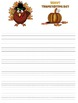 Thanksgiving Writing Papers