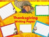 Thanksgiving Writing Papers - Personal & Commercial use
