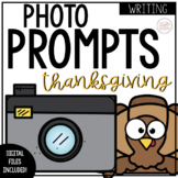 Thanksgiving Writing: Photo Prompt Cards and Writing Paper