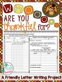 Thanksgiving Writing Project: Friendly Letters of Thanks to the Ones We Love