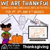 Thanksgiving Lessons, No Prep