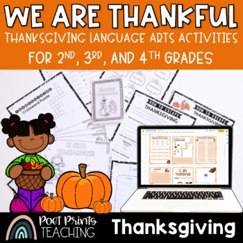 Thanksgiving Writing and Activities