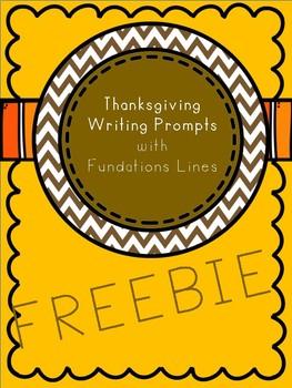 Thanksgiving Writing Prompt Freebie