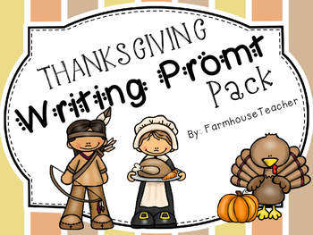 Thanksgiving Writing Prompt Pack