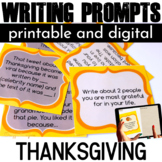 Thanksgiving Activities Writing Prompts