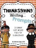 Thanksgiving Writing Prompts - Common Core