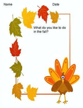 Thanksgiving Writing Prompts Free