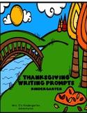 Thanksgiving Writing Prompts -  Kindergarten