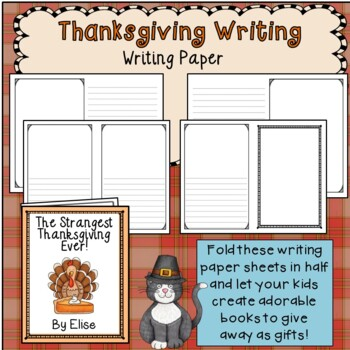 Thanksgiving Writing Prompts and Story Starters *Writing Activities* Word Lists