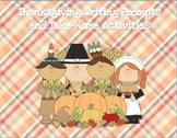 Thanksgiving Writing Prompts and Take-Home Activities