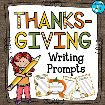Thanksgiving Writing Prompts and Templates - Autumn