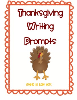 Thanksgiving Writing Pack