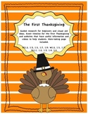 Thanksgiving Writing, Reading Comprehension & Research Pro