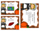 Thanksgiving Writing Sentences Task Cards