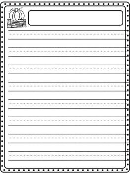 Thanksgiving Writing Sheets