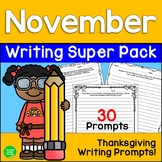 Thanksgiving Seasonal Writing Prompts