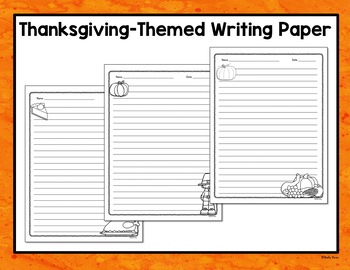 Thanksgiving Writing Prompt Task Cards - Opinion, Informative, Narrative