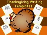 Thanksgiving Descriptive Writing & Story Templates for Kindergarten